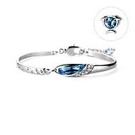 cheap -Women's Dark Blue Crystal Geometrical Bracelet Crystal Bracelet - Pisces Simple, Korean, Fashion, Cute, Elegant Bracelet Jewelry Blue For Birthday Gift Valentine Office & Career Festival