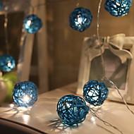 ieftine -3M Fâșii de Iluminat 20 LED-uri Alb Cald Decorativ 220-240 V 1set