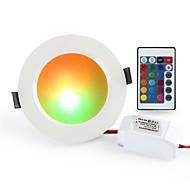 ieftine -1 buc 10 W 900-1000 lm 10 LED-uri de margele Telecomandă Intensitate Luminoasă Reglabilă Ușor de Instalat LED Tavan RGB + alb 85-265 V Rezidențial Acasă / Birou Living / Dinning