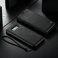 ราคาถูก -WHATIF Case สำหรับ Samsung Galaxy S8 Plus Wallet / with Stand / Magnetic ตัวกระเป๋าเต็ม สีพื้น Hard หนัง PU สำหรับ S8 Plus