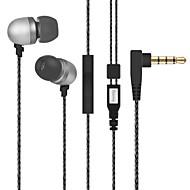 저렴한 -LITBest iBoB212 귀에 유선 헤드폰 이어폰 플라스틱 / 메탈 쉘 / 실리카 젤 모바일폰 이어폰 스테레오 / 볼륨 컨트롤 / 하이파이 헤드폰
