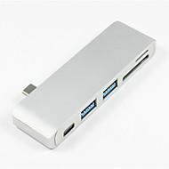 cheap -5 USB Hub USB 3.1 Type C USB 3.0 / USB 3.1 Type C Data Hold Data Hub