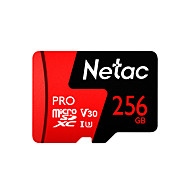 Χαμηλού Κόστους -Netac 256GB κάρτα μνήμης UHS-I U3 / V30 P500pro