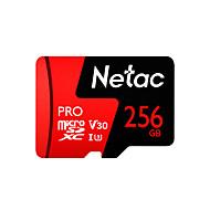 abordables -Netac 256GB carte mémoire UHS-I U3 / V30 P500pro