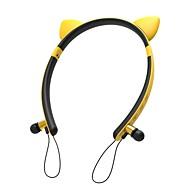저렴한 -LITBest KZ29 헤드폰 및 헤드셋 무선 헤드폰 이어폰 PP+ABS / 실리카 젤 / ABS + PC 여행 및 엔터테인먼트 이어폰 귀여운 / 스테레오 / 마이크 포함 헤드폰