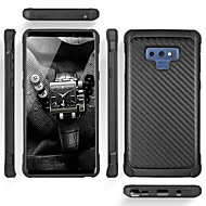 cheap -Case For Samsung Galaxy Note 9 Shockproof Back Cover Lines / Waves Hard Carbon Fiber for Note 9