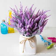 cheap -Artificial Flowers 5 Branch Classic Stage Props Pastoral Style Lavender Eternal Flower Tabletop Flower