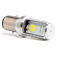 저렴한 -1pcs BA20D 모터사이클 전구 4 W COB 450 lm 1 LED 안개등 제품 모든 년도