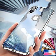 Etui Käyttötarkoitus Apple iPhone XS / iPhone XS Max Pinnoitus / Peili Suojakuori Yhtenäinen Kova PC varten iPhone XS / iPhone XR / iPhone XS Max