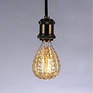 cheap -40 W E26 / E27 Yellow Transparent Body Incandescent Vintage Edison Light Bulb 220-240 V