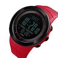 Χαμηλού Κόστους -SKMEI Ανδρικά Ψηφιακό ρολόι Ψηφιακό σιλικόνη Μαύρο / Μπλε / Κόκκινο 50 m Ανθεκτικό στο Νερό Ημερολόγιο Διπλές Ζώνες Ώρας Ψηφιακό Υπαίθριο Μοντέρνα - Πράσινο Μπλε Χακί