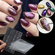 levne -1 pcs Speciální design Plast Geometrické drahokamy Pro Nehet na ruce kreativita nail art manikúra pedikúra Denní stylové / Jednoduchý