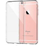 economico -Custodia Per Apple iPhone 8 Plus / iPhone 8 / iPhone 7 Plus Resistente agli urti / Transparente Per retro Tinta unita Morbido TPU