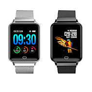 お買い得  -Indear M21 男性 スマート·ウォッチ Android iOS ブルートゥース Smart スポーツ 防水 心拍計 血圧測定 ストップウォッチ 歩数計 着信通知 アクティビティトラッカー 睡眠サイクル計測器