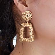 Χαμηλού Κόστους -Γυναικεία Γεωμετρική Κρεμαστά Σκουλαρίκια Σκουλαρίκια Στυλάτο Βίντατζ Μοντέρνο Κοσμήματα Χρυσαφί Για Πάρτι Καθημερινά Φεστιβάλ 1 Pair