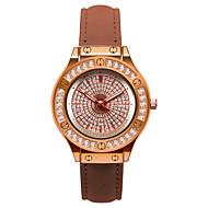 preiswerte -Damen Quartz Uhr Freizeit Modisch Weiß Blau Rosa PU - Leder Chinesisch Quartz Hellgrün Dunkelmarine Rose Rot Armbanduhren für den Alltag bezaubernd 30 m 1 Stück Analog Ein Jahr Batterielebensdauer