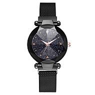 رخيصةأون -نسائي ساعات كوارتز كاجوال موضة أسود أزرق بني أشابة صيني كوارتز أسود أحمر أرجواني جميل ساعة كاجوال كوول 1 قطعة مماثل