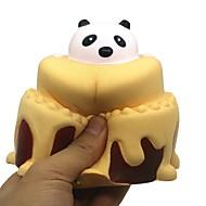 ราคาถูก -บีบของเล่น Panda ขนมเค้ก ของเล่นที่บีบอัด ยูรีเทนโพลี ทั้งหมด Toy ของขวัญ