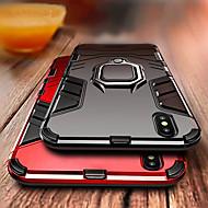abordables -Coque Pour Apple iPhone XS / iPhone XR / iPhone XS Max Antichoc / Anneau de Maintien Coque Armure Dur PC pour iPhone XS / iPhone XR / iPhone XS Max