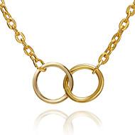 Χαμηλού Κόστους -Γυναικεία Κρεμαστό Charm Κολιέ Χρυσό Ασημί 54 cm Κολιέ Κοσμήματα 1pc Για Καθημερινά Σχολείο Δρόμος Αργίες Φεστιβάλ