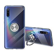 billige -Etui Til Xiaomi Mi 9 / Mi 9 SE Ringholder Bakdeksel Ensfarget Myk TPU til Xiaomi Mi 8 / Xiaomi Mi 8 Explorer / Xiaomi Mi 8 Lite
