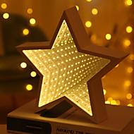 Χαμηλού Κόστους -1pc LED νύχτα φως Θερμό Λευκό Μπαταρίες AA Powered Δημιουργικό <5 V