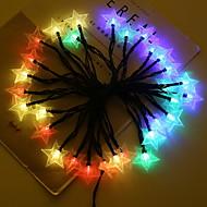 billige -4m Lysslynger 20 LED Multifarget Solar / Dekorativ AA batterier drevet 1set