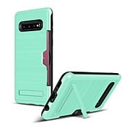 billige -Etui Til Samsung Galaxy Note 9 / Note 8 Kortholder / Stødsikker / Støvsikker Bagcover Ensfarvet Blødt TPU for Note 9 / Note 8
