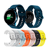billige -Klokkerem til Samsung Galaxy Active Samsung Galaxy Sportsrem Metall / Silikon Håndleddsrem