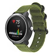 billige -Klokkerem til vivomove / vivomove HR / Vivoactive 3 Garmin Sportsrem Stoff / Nylon Håndleddsrem