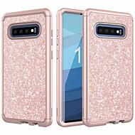 billige -Etui Til Samsung Galaxy Galaxy S10 / Galaxy S10 Plus Glitterskin Fuldt etui Glitterskin Hårdt TPU for Galaxy S10 / Galaxy S10 Plus / Galaxy S10 E