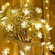 Χαμηλού Κόστους -3M Φώτα σε Κορδόνι 20 LEDs Θερμό Λευκό Διακοσμητικό Μπαταρίες AA Powered 1set