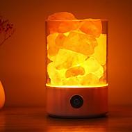 billige -1pc Dekorations Lys / LED Night Light / Smart nattlys Fargerik Usb Berør sensoren / Dekorasjon / Atmosfære Lampe 5 V