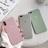 economico -custodia per apple iphone xr / iphone xs modello max cover posteriore cuore soft tpu per iphone x xs 8 8plus 7 7plus 6 6s 6plus 6s plus