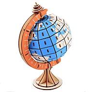 billige -Puslespill i tre Puslespill og logikkleker Globe Eiffeltårnet Håndlavet Foreldre-barninteraksjon Tre 1 pcs Barne Voksne Leketøy Gave