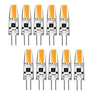 billige -kwb 10 stk 3 watt g4 ledd bi-pin base 12v lyspære varm hvit og hvit halogen g4 30w led erstatning