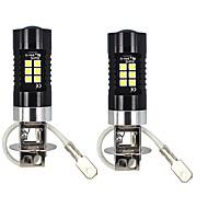 お買い得  -2ピース10ワット800lm h3 ledフォグライトアルミ冷却性能トップレンズ超白色明度