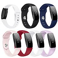 billige -Klokkerem til Fitbit Inspire HR / Fitbit Inspire Fitbit Sportsrem Silikon Håndleddsrem