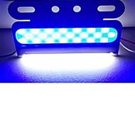 abordables -sencart 6pcs clignotant avertissement d'urgence marqueur latéral balise danger lumière stroboscopique led cob 24v