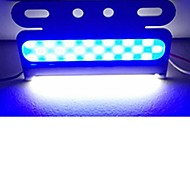 billige -sencart 6pcs blinkende alarm advarselsside markør beacon fare strobe lys ledet cob 24v
