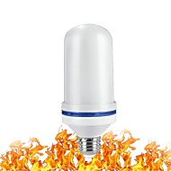 billige -1pc 9 W LED-globepærer 700 lm E26 / E27 96 LED Perler SMD 2835 3D fyrværkeri