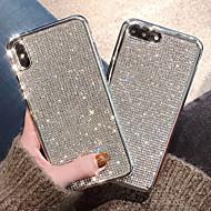 povoljno -CISIC Θήκη Za Apple iPhone XR / iPhone XS Max Otporno na trešnju / Vodootpornost / Štras Stražnja maska Jednobojni Mekano TPU za iPhone XS / iPhone XR / iPhone XS Max