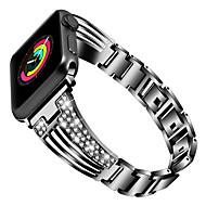 billiga -watch band för Apple Watch serien 4/3/2/1 äpple smycken design rostfritt stål armband