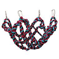 abordables -Pájaro Perchas y Escaleras Textil Amigable con las Mascotas / Juguete del foco / Juguetes de felpa y tela 32 cm