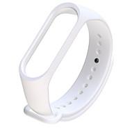 tanie -Watch Band na Mi Band 3 Xiaomi Bransoletka skórzana Guma Opaska na nadgarstek