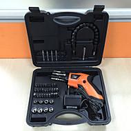 economico -4.8v cacciavite elettrico set di ricarica famiglia pistola a due vie rotante scatola di plastica mini combinazione riser