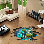 cheap -Decorative Wall Stickers - Plane Wall Stickers Landscape / Animals Bedroom / Indoor