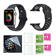 billiga -Klockarmband för Apple Watch Series 4/3/2/1 Apple Sportband Silikon Handledsrem