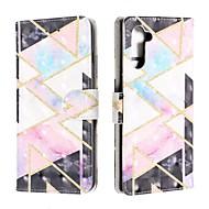 povoljno -Θήκη Za Samsung Galaxy Note 9 / Galaxy Note 10 / Galaxy Note 10 Plus Novčanik / Utor za kartice / Otporno na trešnju Korice Geometrijski uzorak PU koža