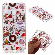 cheap -Case For Samsung Galaxy J8 (2018) / J7 (2018) / J6 (2018) Transparent / Pattern Back Cover Christmas TPU For Samsung Galaxy J3 2018/J4 2018/M10/M20/M30